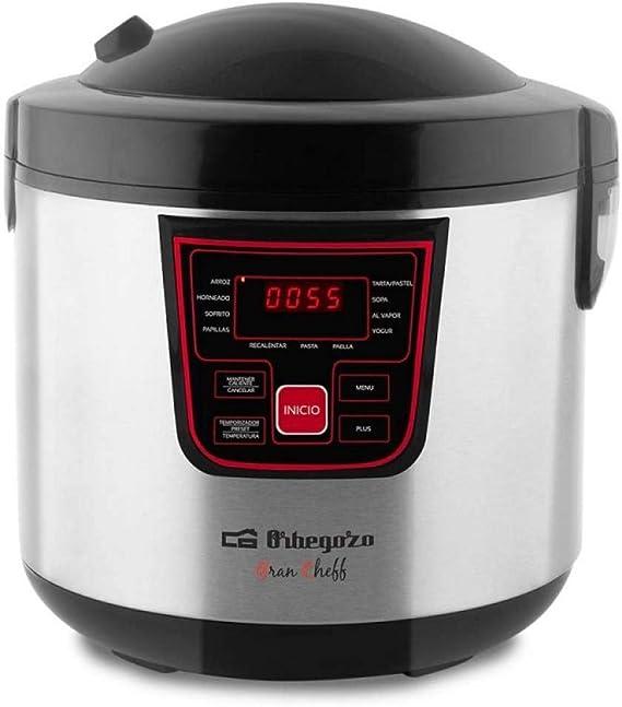 ORBEGOZO 17438 Máquina de cocinar programable MCP 6000, Negro: Orbegozo: Amazon.es: Hogar
