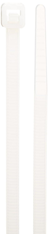8 Length Pack of 100 Pack of 100 8 Length 0.183 Width 2.17 Max Bundle Diameter 50lbs Tensile Strength 0.183 Width 2.17 Max Bundle Diameter Morris Products 20414 Releasable Nylon Cable Ties