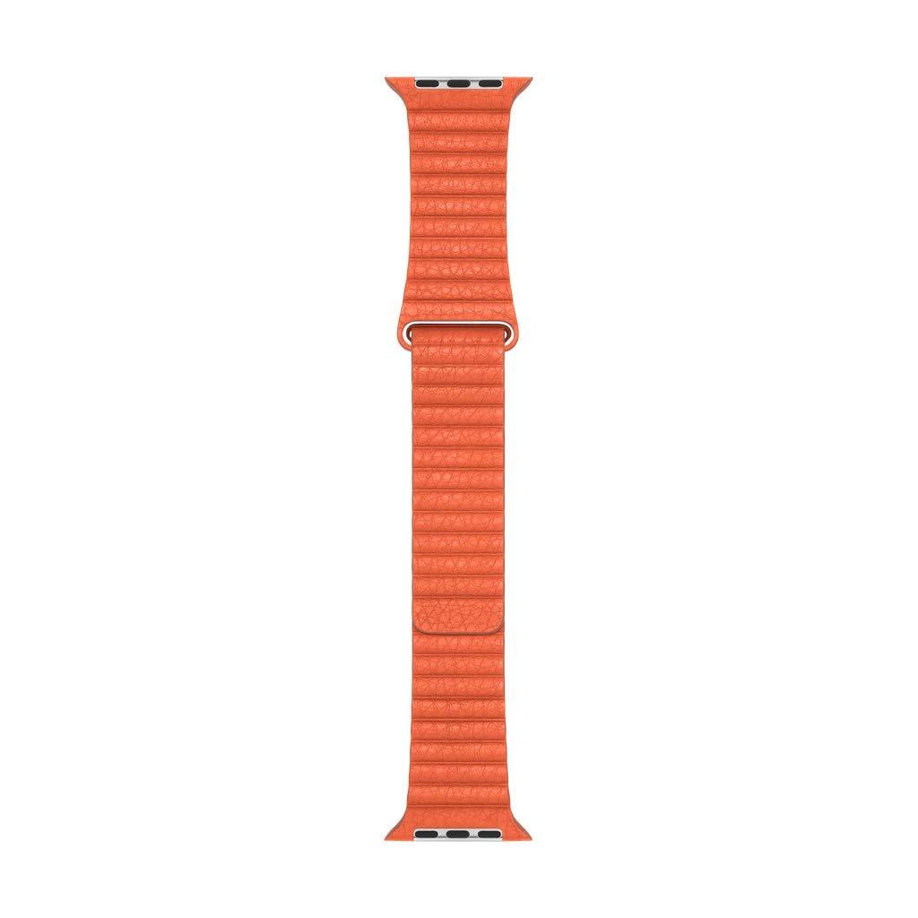 Apple Watch Leather Loop (44mm) - Sunset - Medium