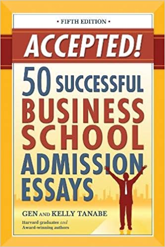 amazon accepted 50 successful business school admission essays