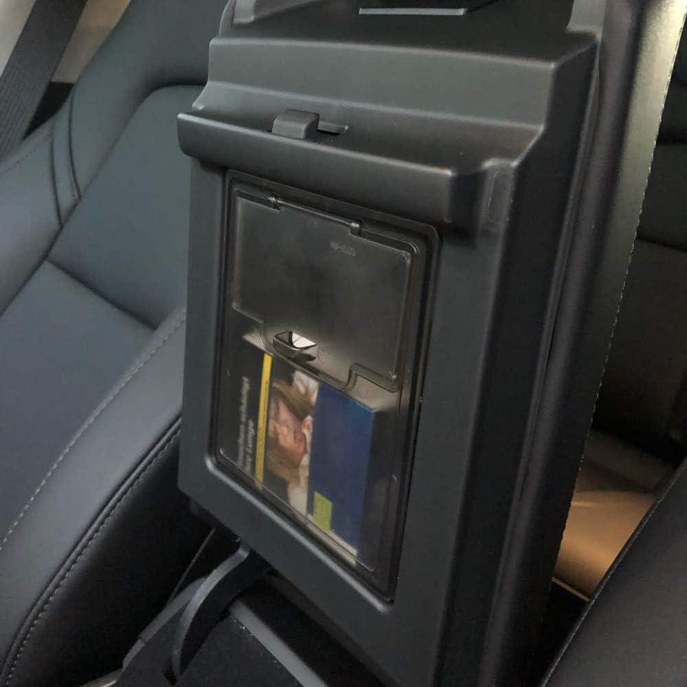 Fesjoy Auto Armlehne Box Speicherorganisator Container Transparent Versteckte Halter Box Ersatz f/ür Tesla Modell 3 2017-2019 Auto Armlehne Aufbewahrungsbox