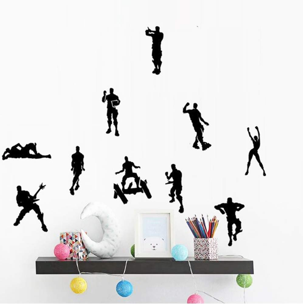 Game Wall Stickers Poster Floss Dancing Wall Decor Peel, Game Stick Poster Decals, Floss Vinyl Wallpaper for Kids Rooms (18.5'' x 16.5'') by Kepom (Image #3)