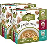 Rachael Ray Nutrish Purrfect Broths All Natural Wet Food Complement For Cats, Grain Free Variety Pack, 1.4 Oz. Pouch (Pack Of 24)
