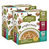 Rachael Ray Nutrish Variety Pack Purrfect Broths Wet Cat Food, 1.4 Ounce Pouches (24 Count) Larger Image