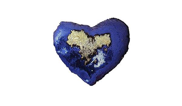 Kbsin212 Purpurina Throw Almohada , corazón cojín Almohada ...