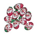 100 x Milk Chocolate Foiled Christmas Santa Balls 4g Each