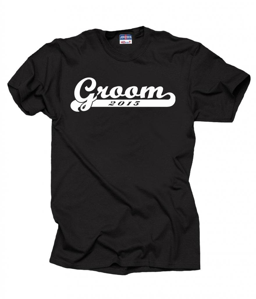 Groom 2015 Wedding Bachelor Party T-shirt X-Large Black
