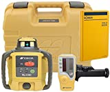 Topcon RL-H4C Self Leveling Horizontal Rotary Laser with Bonus Sokkia Field Book | Drop, Dust, Water Resistant | 2600 ft Construction Laser | Includes LS-80L Receiver, Detector Holder, Hard Case