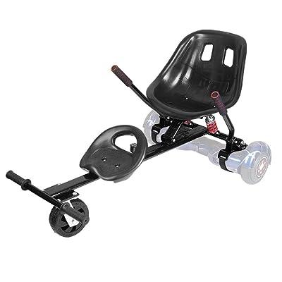 Black Hover Seat Attachment Go Cart Accessories Hover Go Kart Fun for Kids