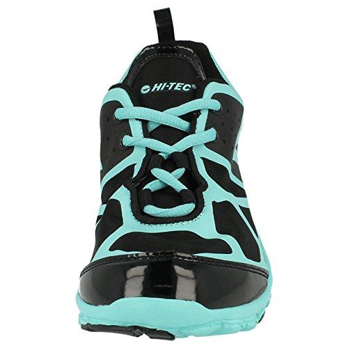 Ladies Hitec ligero transpirable zapatillas de Kali XT  Black/ Mint