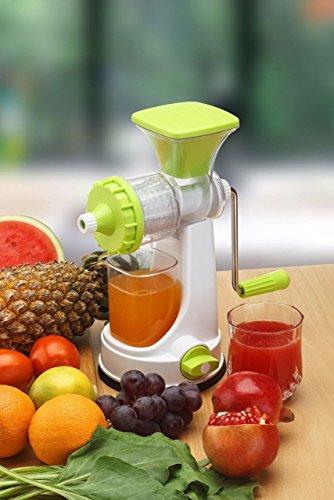 Ganesh New Smart Fruit  amp; Vegetable Multipurpose Juicer  Color:Random Green,Blue,Red,Orange