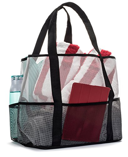 Amazon.com | Aloha Sugar Beach Bag - Mesh Beach Bag and Beach Tote ...