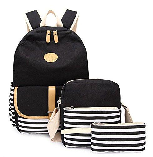 Ulgoo School Backpacks Canvas Shoulder