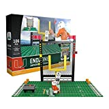 OYO NCAA Miami Hurricanes End Zone Set Gen 2 Buildable Kit, Small, Black