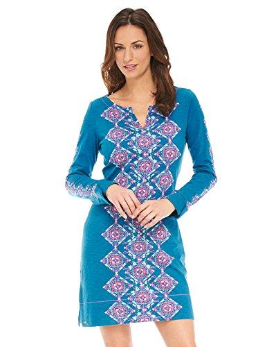 Hatley Womens Sleeve Notch Dress