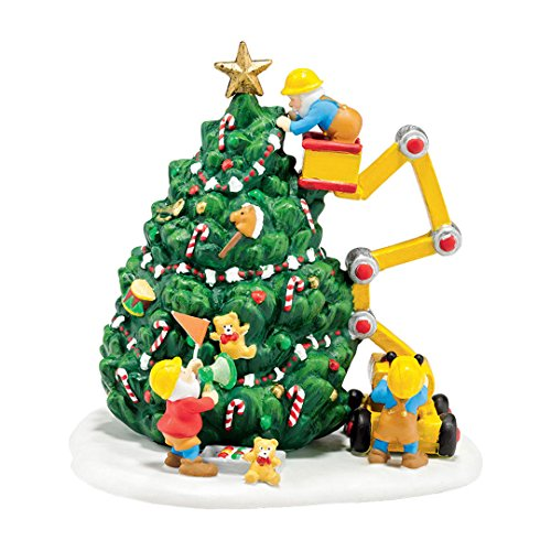 Department 56 North Pole Village Town Tree Accessory Figurine, 5.2