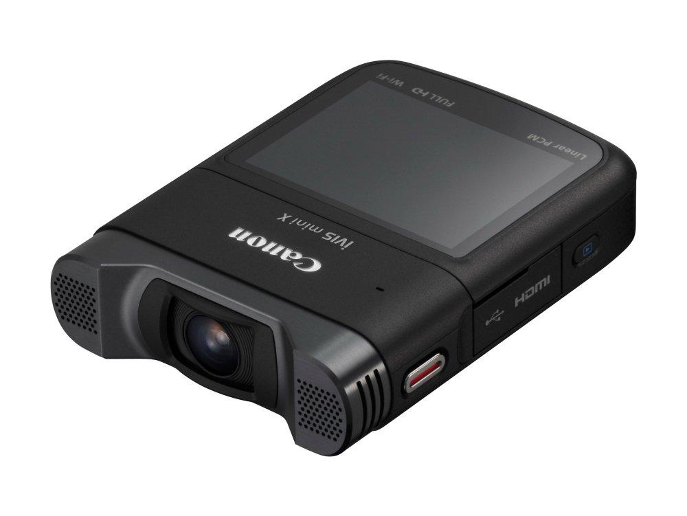 Canon デジタルビデオカメラ iVIS mini X 対角約170度 1,280万画素CMOSセンサー IVISMINIX   B00O3X3CFA