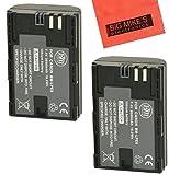 BM Premium 2-Pack of LP-E6, LP-E6N Batteries for Canon C700, XC10, XC15, EOS 60D, EOS 70D, EOS 80D, EOS 5D II, EOS 5D III, EOS 5D IV, EOS 5Ds, EOS 6D, EOS 6D Mark II, EOS 7D,EOS 7D Mark II SLR Camera