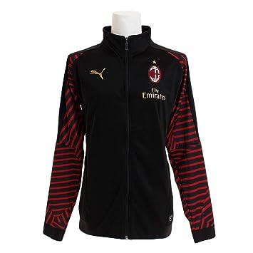 d64011c72eb Puma Men s Ac Milan Stadium Jacket with Sponsor  Amazon.co.uk ...