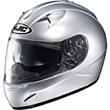 HJC IS 16 Solid Motorcycle Helmet Solid Silver XS