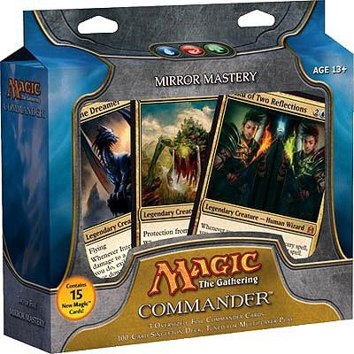 Magic the Gathering - Commander Deck - Mirror Mastery