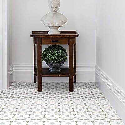 FloorPops FP2952 Stellar Peel & Stick Floor Tile, Multi-Color