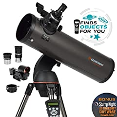 Building on the popularity of our NexStar 114SLT telescope, the 130SLT by Celestron inspires us to go bigger, with 30% more light-gathering power than our 114mm telescope. The Celestron NexStar 130SLT is a computerized telescope that offers a...