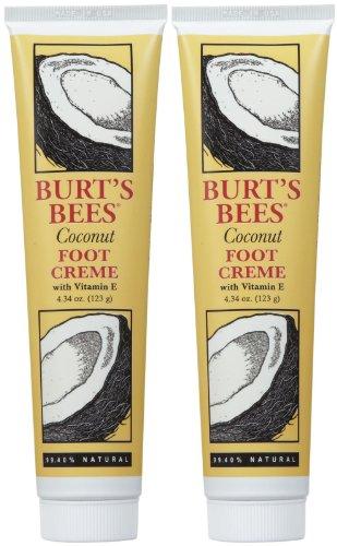 Foot Creme, Coconut, 4.34 oz, 2 - Creme Bees Burts Foot