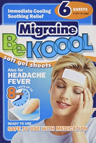 Pain Relievers: BeKool Migraine Soft Gel Sheets