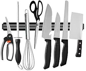 Amazon.com: ouddy 22 inch Barra magnética para cuchillos ...