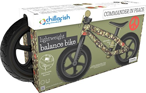 chillafish bmxie rs bmx balance bike with airless rubberskin tires army of love edition camo. Black Bedroom Furniture Sets. Home Design Ideas