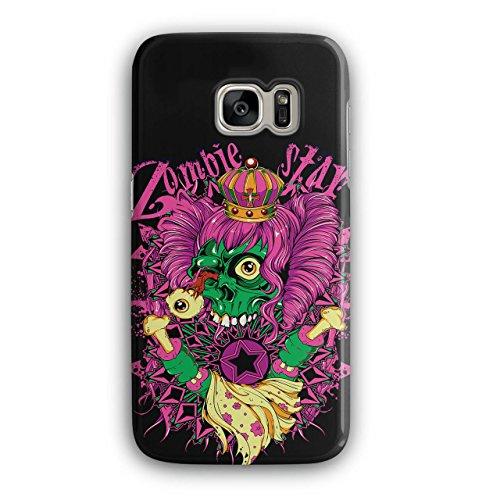 [Zombie Queen Star Eye Royal Dead NEW Black 3D Samsung Galaxy S7 Case | Wellcoda] (Pop Star Fancy Dress Costumes Ideas)