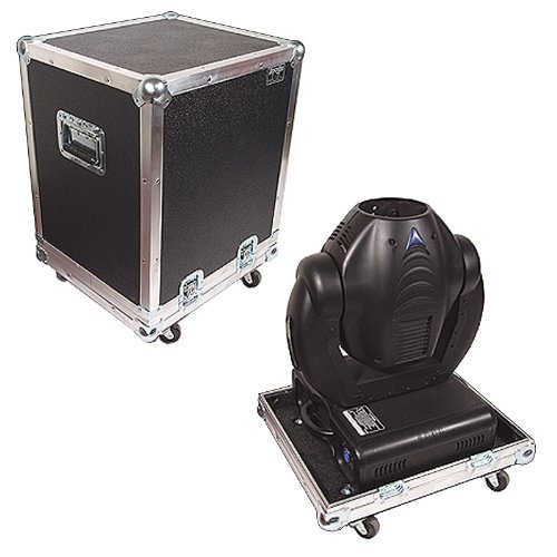 Accu Spot 250 (Lighting ATA Case 1/4 Ply Medium Duty with Wheels for American Dj Accu Spot 250 Ii Moving-rotating Head)