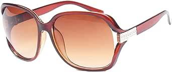 Sunglasses for ladies large style of plastics Brown gradient lenses Item No 618 - 1