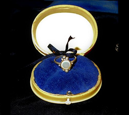 (1930s Ring Box Beautiful Large Celluloid Antique Art Deco Ring Case, Box Will Hold a Ring Up to 1