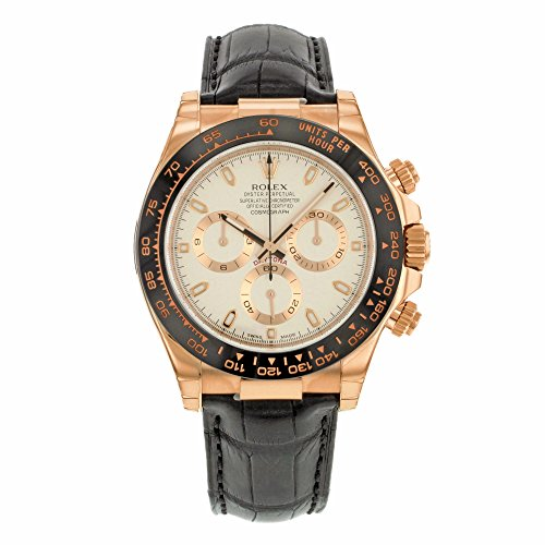 Rolex Daytona 18K Everose Gold Automatic Men's Watch (Large Image)