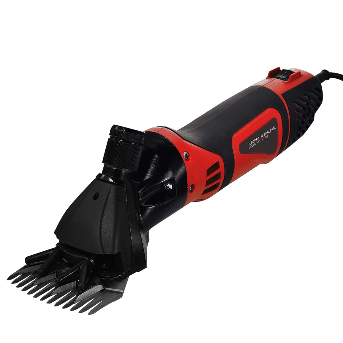 Sheep Shears, NewElectric Sheep Shears for Cattle, Sheep, Horses and Almost All Other Livestock, Upgraded Power is Stronger, More Efficient, Easy to Control Than Old Models. (red)