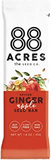 product image for 88 Acres, Ginger Apple Seed Bar, 1.6 Ounce