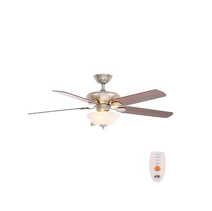 52 hampton bay brushed nickel flowe large room ceiling fan by 52quot hampton bay brushed nickel flowe large room ceiling fan by hampton bay aloadofball Choice Image