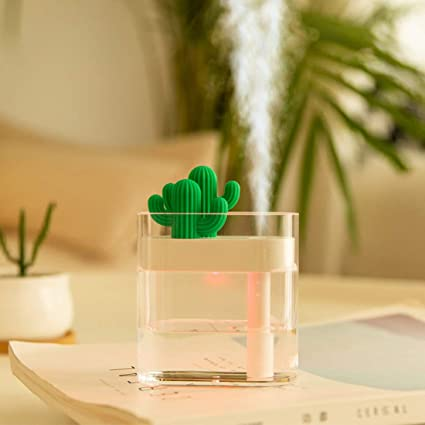 Hot Sale Mini Purifying Air Humidifier Usb Lamp Led Portable Light Usb Night Light Led Energy Saving Small Table Usb Humidifier Lamp Fast Color Air Purifier Parts Air Conditioning Appliance Parts