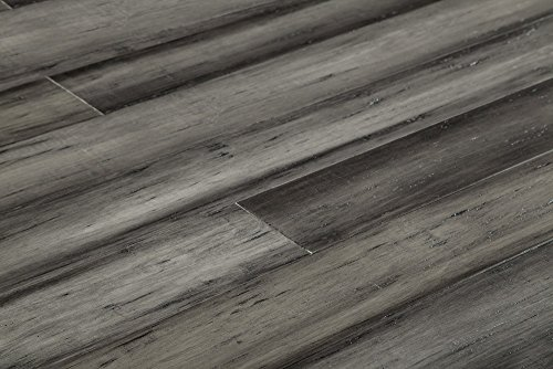 Yanchi Bamboo Flooring - Handscraped Strand Woven Collection  71 4/5
