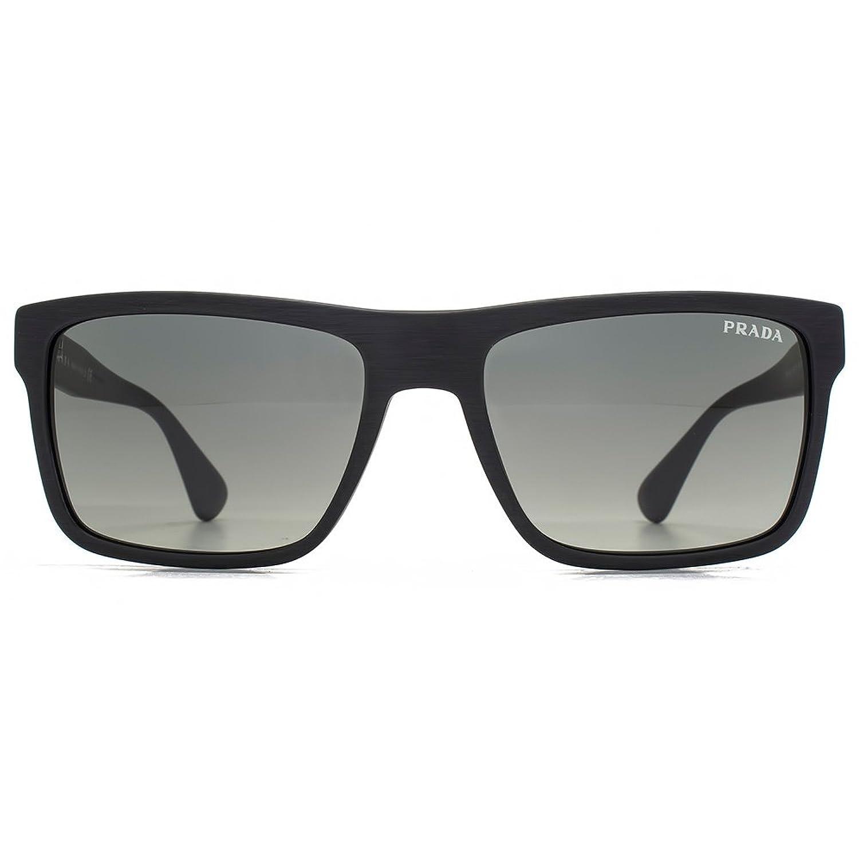 1836f1066a78 ... release date prada conceptual square sunglasses in brushed matte black  pr 01ss sl32d0 57 57 gradient