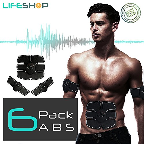 Abdominal+Machine Products : LifeShop ABTech Evertone Complete Workout Electro Abdominal 6 Pack Trainer with Controller