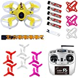 QWinOut Tiny6 RTF Mini Racing Drone Quadcopter with 800TVL Camera Feiyusky F6 RC Transmitter