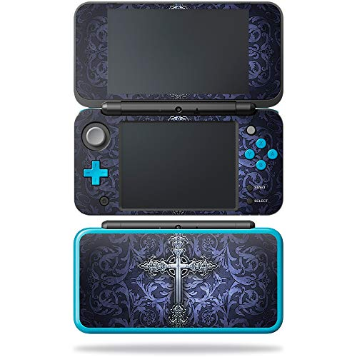 MightySkins Skin Compatible with Nintendo New 2DS XL - Gothic Cross | Protective, Durable, and Unique Vinyl Decal wrap Cover | Easy to Apply, Remove, and Change Styles | Made in The USA ()