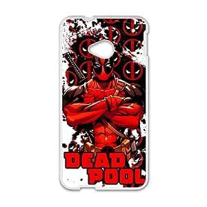 Deadpool DIY case For Custom Case HTC One M7 QW6802339
