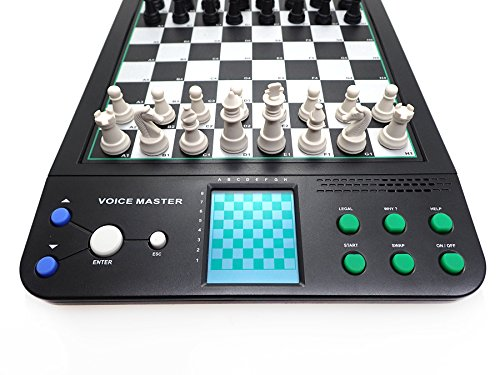 Icore Electronic Talking Chess Computer Set Magnetic