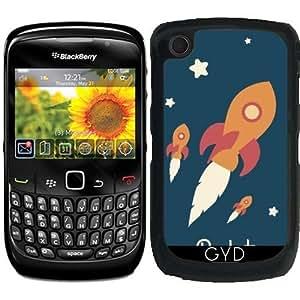 Funda para Blackberry Curve 8520/8530/9300/9330 - Cohete by Asmo