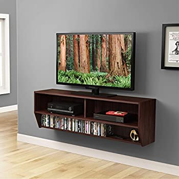 Amazon.com: Black Altus Wall Mounted Audio/Video Console: Kitchen ...