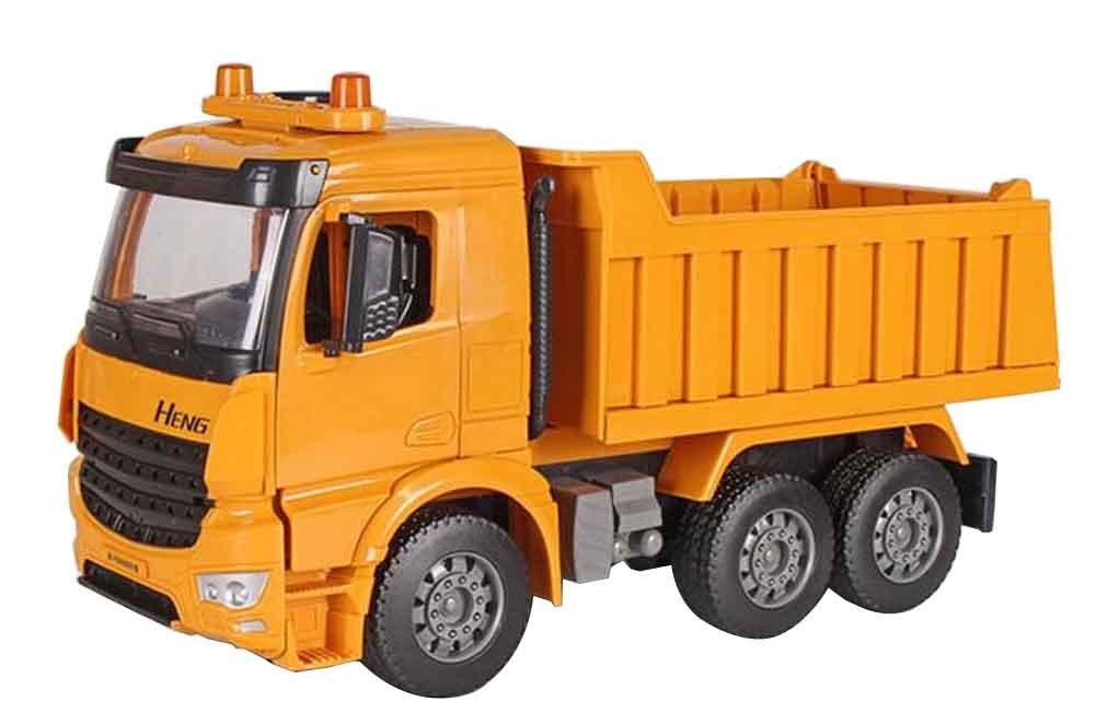 Extra große Baufahrzeuge Spielzeug mit Nachahmung Auto und Horn Sound-1